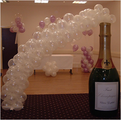 Beautiful occasions for Champagne balloon wall