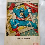 Image of captain america card