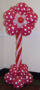 Flower balloon display