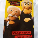Image of muppets card