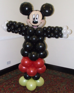 Mickey Mouse balloon character