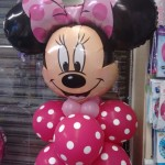 Minnie mouse balloon display