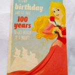 Image of sleeping beauty card
