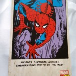 Image of spiderman card