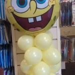 Spongebob balloon display