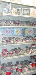 Image showing a selection of our Tatty Teddy giftware
